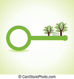 wind-mill, vect, arbre, key-