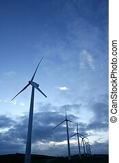 Wind mills aerogenerator, ecological energy - Wind mills, ...