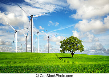 Wind of change, turbines