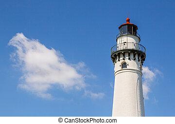 Wind Point Light in Wisconsin