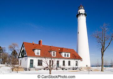 Wind Point Lighthouse, WI, USA