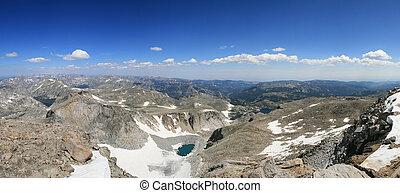 Wind River Peak panorama
