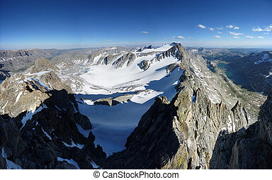 Wind River Range panorama