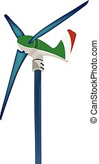 wind shovel to produce clean energy