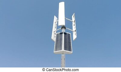 Wind solar turbine and new power