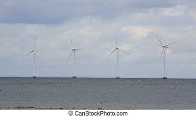 Wind tubines offshore