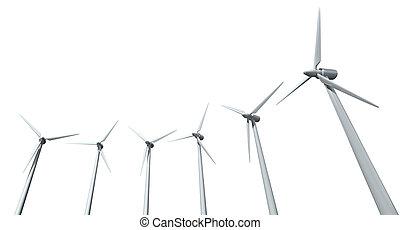 Wind Turbine Array