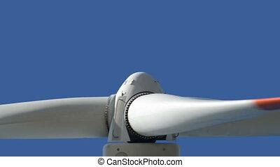 wind turbine close up loopable