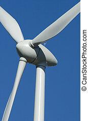 Wind Turbine detail - Wind turbine detail for green energy