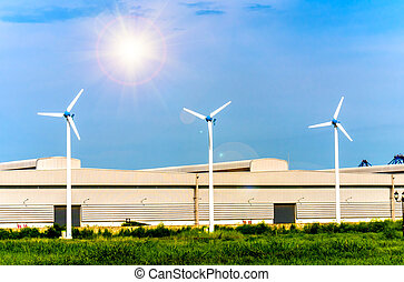 Wind Turbine Power Generation Of the factory
