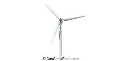 Wind Turbine Single Front