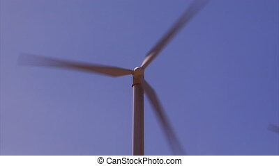 Wind Turbine Solo - Majestic engine of clean energy, the...