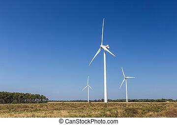 wind turbine system, accumulate energy.