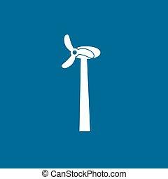 Wind Turbine, vector