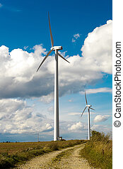 Wind Turbines - alternative and green energy source