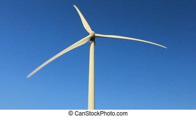 Wind turbines, green energy