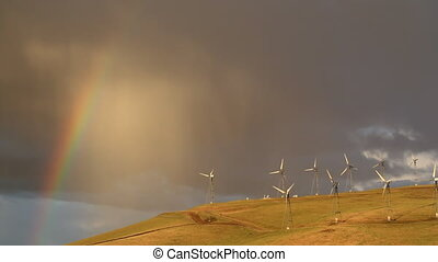 wind turbines in california