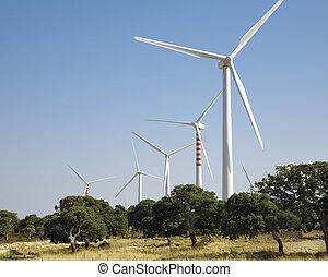 wind turbines - environmental conservation: wind turbines in...