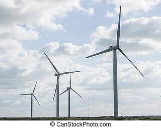 wind, turbines.