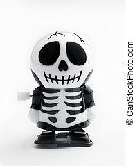 Wind up skeleton