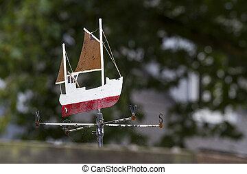 Wind Vane - old wind vane in denmark