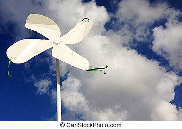 Wind vane - rotating wind vane