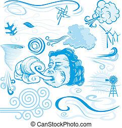 wind, verzameling