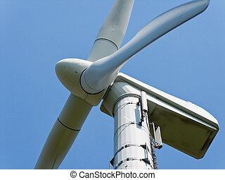 windenergie, alternatief, macht