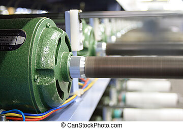 electric motors for winding machine in running motion