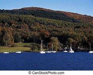 Windermere, Lake District, Cumbria.