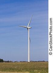 windfarm, turbin