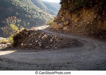 Winding Dirt Road