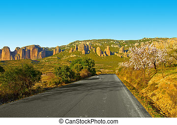 Canyon in Spain