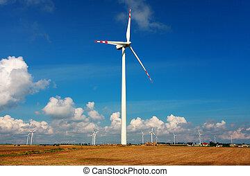 windkraftwerke, alternative energie
