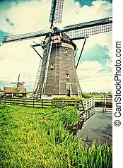 windmühle, altes , niederländisch