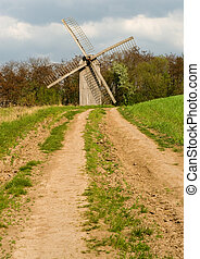 windmühle, altes