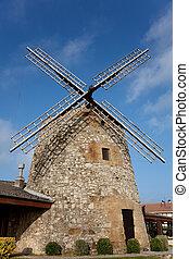 windmühle, getxo, spanien, aixerrota, bizkaia