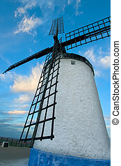 windmühle, in, consuegra