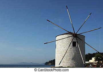 windmühle, kerkyra