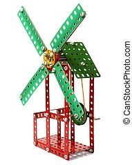 windmühle, spielzeug