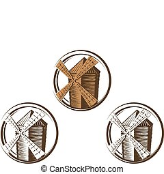 windmühle, symbole