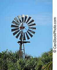 Windmill at Bailey Homestead Preserve Sanibel Captiva Conservation Center Florida