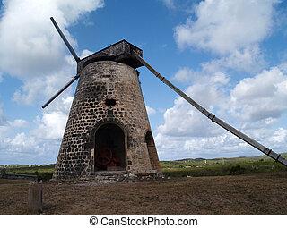 Windmill Bettys Hope Antigua
