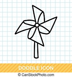 Windmill doodle