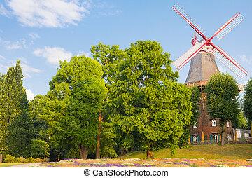 Windmill in Bremen