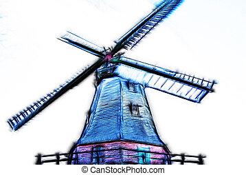 Windmill in Germany