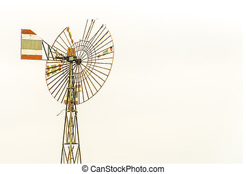 Windmill in the evening sky energy environmental