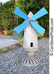 Windmill in the garden