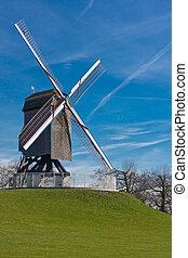 Windmill on hill