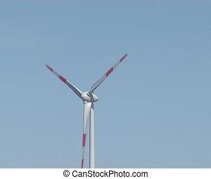 windmill producing renewable energy